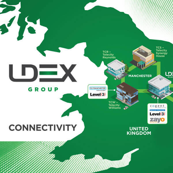 LDEX_Connectivity | LDeX Group | London Colocation | London