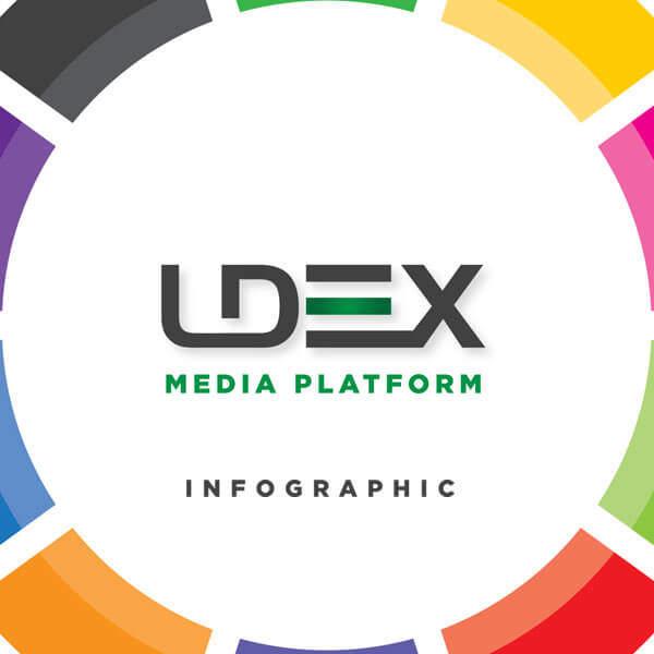 LDeX Media Platform Infographic